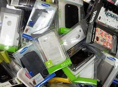 100 Mix Wholesale Job Lot Mobile & Smart Phone Accessories Charger Case Cover