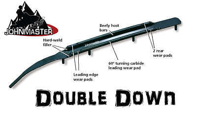 """6"""" Snowstuds DOUBLE DOWN Carbide Runners Polaris IQ HO Dragon Switchback Rush"""