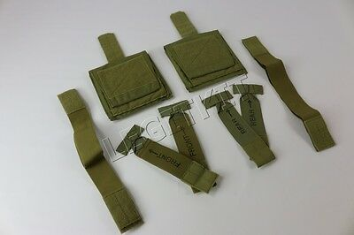MSAP Deltiod Protectors w/ Front, Rear MOLLE Attachment & Elastic Armbands