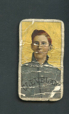1909 -1911 T206 Perring Polar Back Cleveland RARE Vintage Tobacco Card