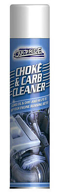 151 Car Pride Choke and Carburettor Cleaner Spray 250ml Clears Oil and Dirt