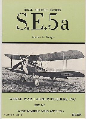 Royal Aircraft Factory S.E.5a by Bourget