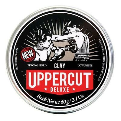 Uppercut Deluxe Matte Clay 60g Mens Hair Wax Product **GENUINE**