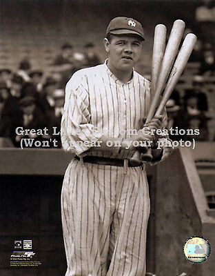 New York Yankees - Babe Ruth - Vintage 8x10 - Awesome!!