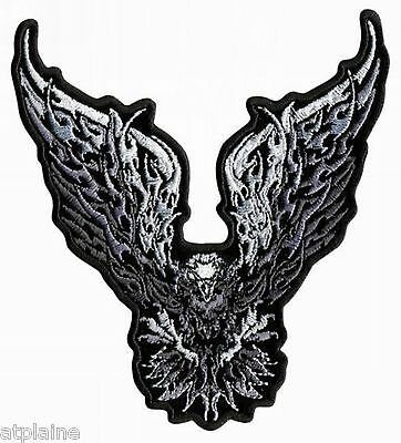 Patch brodé CHROME EAGLE - Style BIKER HARLEY