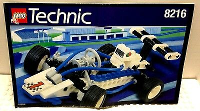 LEGO INSTRUCTION MANUAL BOOK ONLY - 8216 - VINTAGE TECHNIC / TURBO 1 RACE CAR