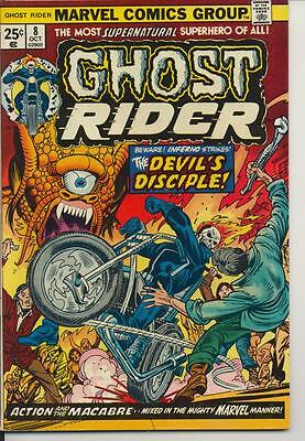 Ghost Rider #8 Fine Plus F+ (6.5) Marvel Comics (1974)
