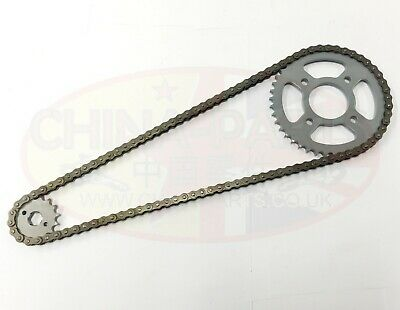 Chain & Sprockets Set to fit Jinlun Texan 125 JL125-11