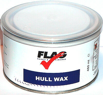 Flag Hull Wax imported by Lustersheen ~ Boat Wax