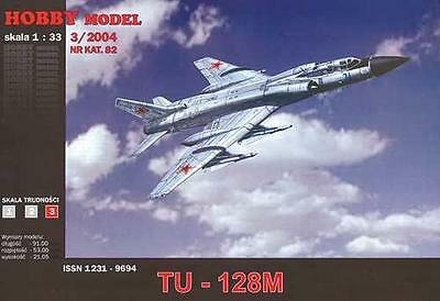 Hobby Model 82 - Tupolev Tu-128 M Fiddler   1:33