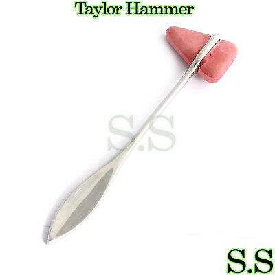 Taylor Percussion (Reflex) Hammer Stainless Steel Medical Surgical