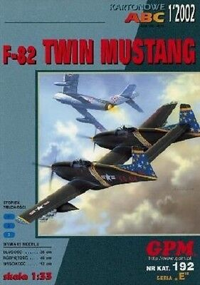 GPM 192  North American F-82 Twin Mustang  1:33