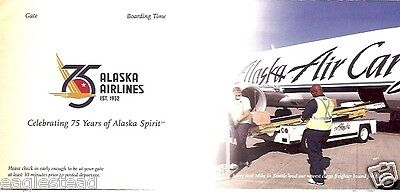 Ticket Jacket - Alaska - 75th Anniversary - Air Cargo - Cow Carrier (J1271)