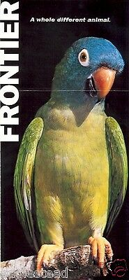 Ticket Jacket - Frontier - Blue-Crowned Conure - Parrot - 2008 (J1367)
