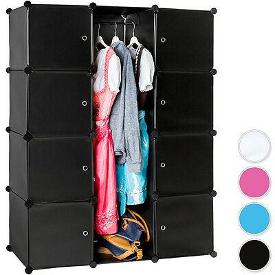 Steckregal Schrank Regal Kleiderschrank Garderobe Standregal Bad Ne