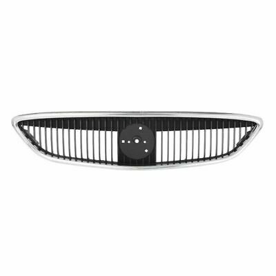 Grille Assembly Chrome & Black for 00-03 Mercury Sable