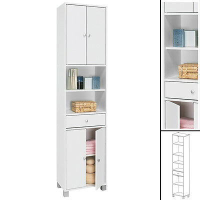 Badezimmer schrank 60cm highboard wei badm bel for Badezimmer highboard