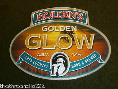 Beer Pump Clip - Holden's Golden Glow
