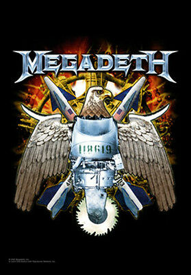 "MEGADETH ""EAGLE"" Fabric Poster Oversized 30""X40"" Poster Flag NEW"