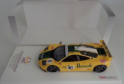 1/43 True Scale TSM 1995 McLaren F1 GTR car 51 LeMans 3rd Place Mach One Harrods