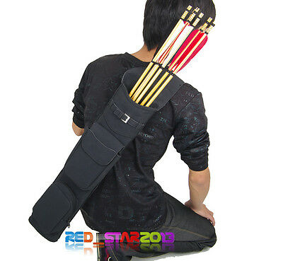 New Archery Messenger Bag Training Matte Velvet Arrow pot Bow Quiver Accessories