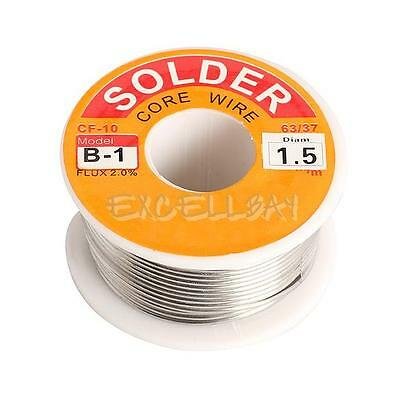 1.5mm New Tin Lead Tin Wire Melt Rosin Core Solder Soldering Wire Roll