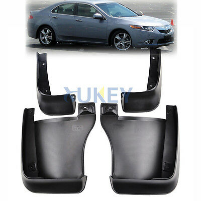 Fit For 2008~2013 Honda Accord Euro Mud Flaps Splash Guards 2009 2010 2011 2012