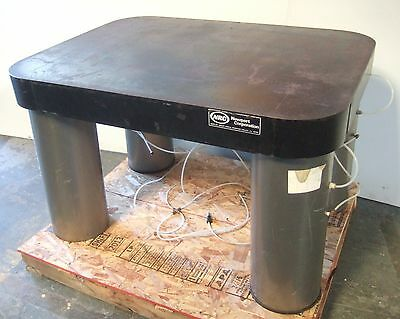 NRC Newport Optical Isolation Metal Table 48x36 Pneumatic Vibration Nice