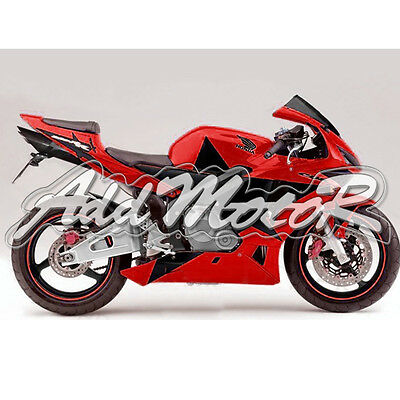 Injection Molded Fit 2003 2004 CBR600RR 03 04 Big Star Red Fairing L6514H