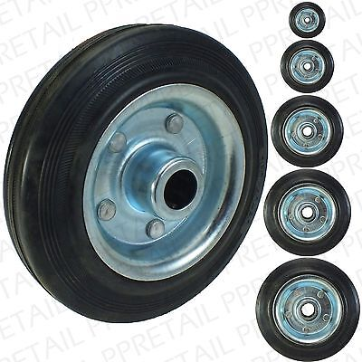 "SPARE BLACK CASTOR WHEEL MAX 150Kg 3""/4""/5""/6""/8"" Replacement Caster Small Large"