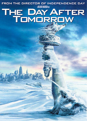 DVD: THE DAY AFTER TOMORROW [Dennis Quaid,Jake Gyllenhaal] FULL SCREEN