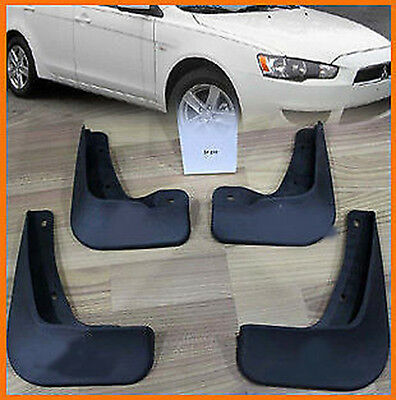 FIT FOR 08ON MITSUBISHI LANCER SEDAN DE ES MUD FLAP FLAPS SPLASH GUARDS MUDGUARD