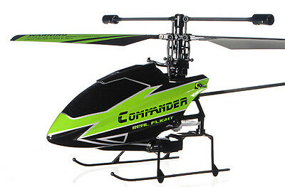 BRAND NEW Upgraded WLTOYS V911-1 2.4G 4.5Ch RC Helicopter with Gryo Green BNF