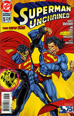 SUPERMAN Unchained #5 Superman Reborn VARIANT Cover 1:25
