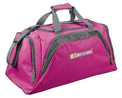 Ladies Large Pink Travel Holdall Bag - SPORTS DUFFLE FITNESS TRAVEL GYM - 26