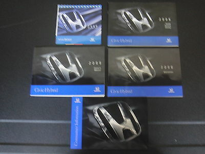 2006 Honda Civic Hybrid Owners Owner S Manual Guide Books Literature