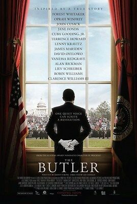The Butler - original DS movie poster D/S 27x40 2013