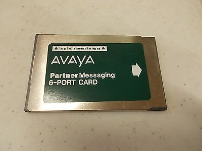 Partner Messaging 6 Port Expansion Avaya AT&T ACS Lucent PCMCIA card