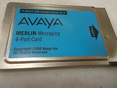 Merlin Messaging 4 Port  Avaya AT&T ACS Lucent PCMCIA card 108491366