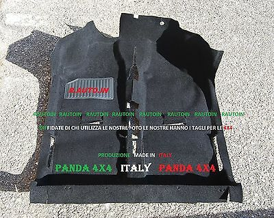 FIAT PANDA Country Club TAPPETO MOQUETTE INTERNO  Moulded Carpet 4x4