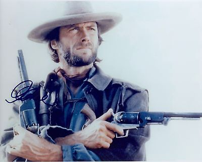 CLINT EASTWOOD ACTOR Signed reprint Photo 8x10