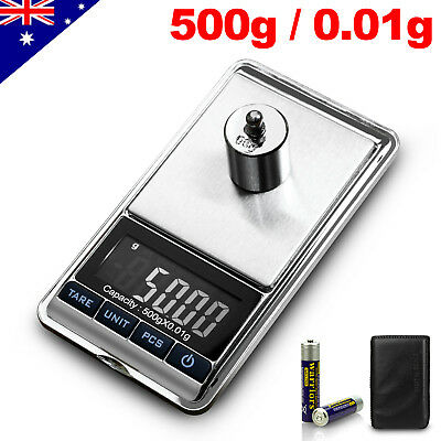 200g/500g/2000g 0.01g Portable Digital Pocket Jewelry Weighing Weight Scale Lab