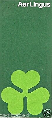 Ticket Jacket - Aer Lingus - Green Shamrock - NO White Space (J1635)