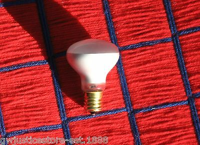 NEW 25w LAVA LAMP R14 LIGHT BULB 25 watt 120v R type 25R14/N intermediate E17