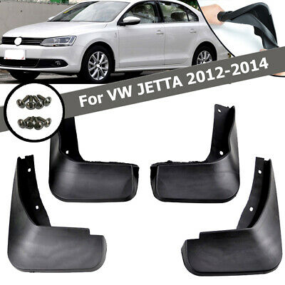 Fit For Vw Jetta Mk6 A6 2011~14 Mud Flap Flaps Splash Guards Mudguard Volkswagen