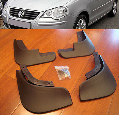 Fit For Volkswagen Polo Mk4 9N3 Vw  05~10 Mud Flaps Splash Guard Mudguards Flap