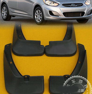 Fit For Hyundai Accent Sedan Solaris 2011~16 Mud Flaps Splash Guards Mudguards