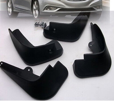 4Pc Fit For Hyundai Sonata 2011 2012 2013 Mud Flap Flaps Splash Guard Mudguards