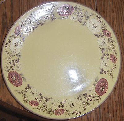 Vintage Taylor Smith & Taylor Indian Summer Dinner Plate '50's - '68