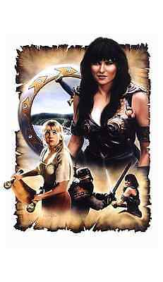 Xena Warrior Princess - Scroll of the Warrior Litho Signed by Lawless & O'Connor